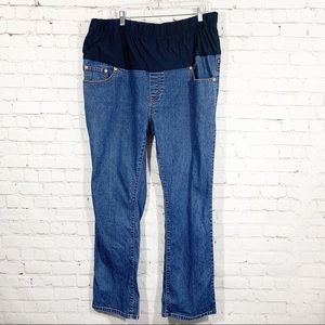 Levi's Jeans maternity Belly panel 18M
